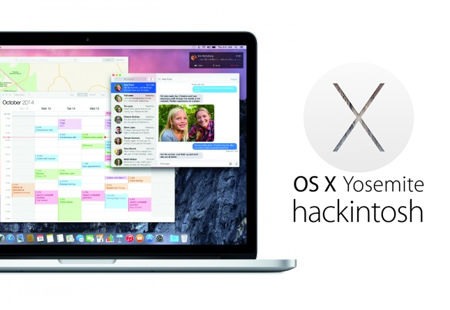 Download & Install Hackintosh OS X 10.10.1 Yosemite on Windows PCs, Laptops as Dual Boot