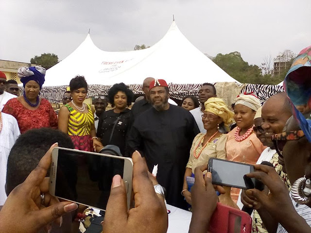 Photos Pete Edochie S Wife Josephine Edochie Spotted At