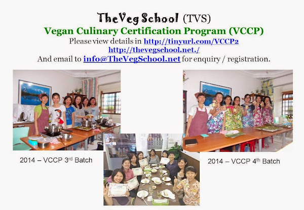 2014 TVS Vegan Culinary Certification Program