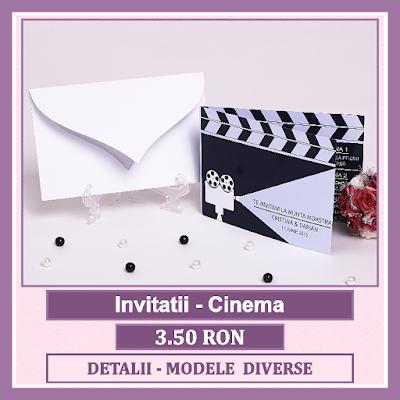 http://www.bebestudio11.com/2018/03/invitatii-nunta-cinema.html