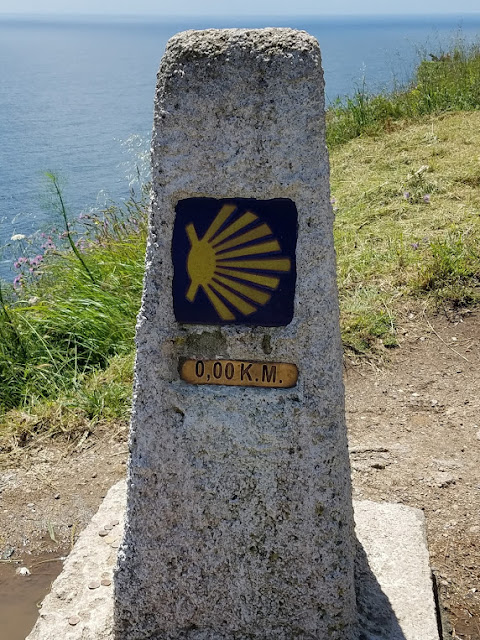 The end of the Camino and the end of the World. Photo: © Lisa Foradori.