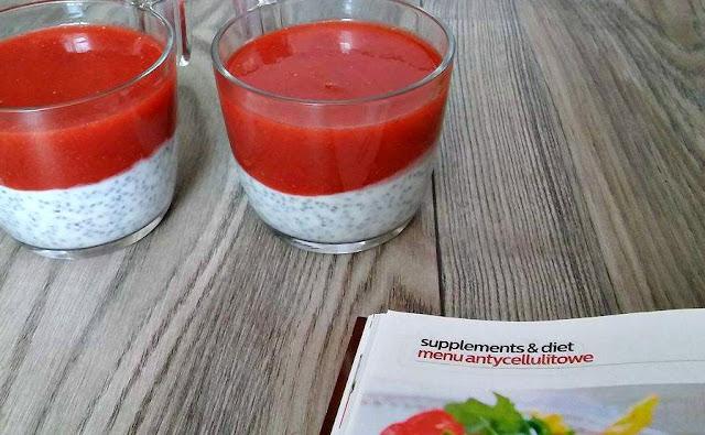 Czy to się je?: pudding chia z truskawkami