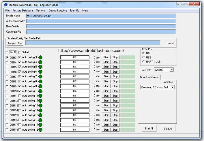 Download MTK SP Multi Port Download Tool To Flash Scatter File On MediaTek