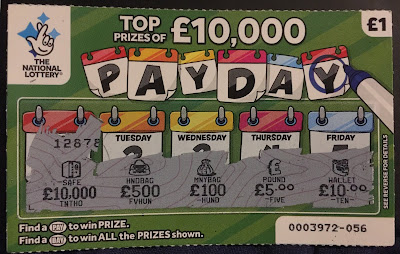£1 Pay Day Scratch Card