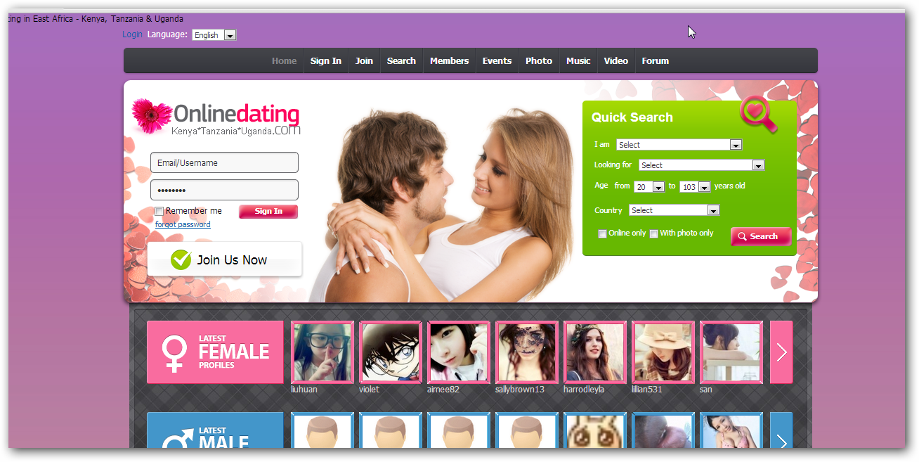 free mobile dating in kenya Webdate is online dating for free chat with singles and find your match after browsing member pictures from all over the world mobile dating | careers.