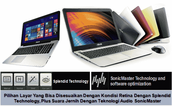 notebook amd asus x555qg