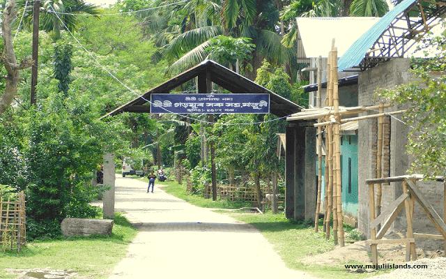 Garmur Saru Satra Of Majuli Island