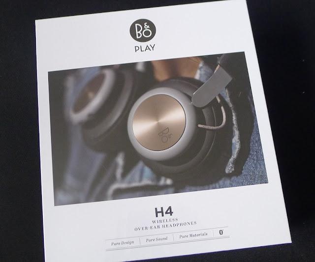 B&O BeoPlay H4 packaging