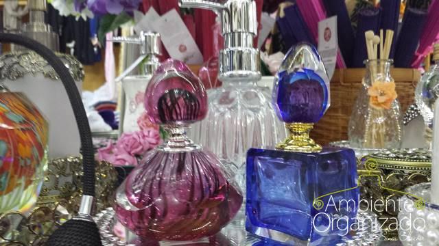 Perfumeiras coloridas