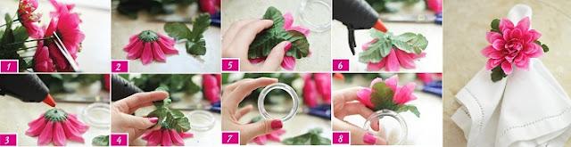 diy-porta-guardanapos-para-casamento-porta-guardanapo-de-flor-artificial