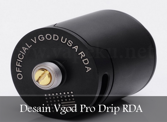 RDA Vgod Pro Drip Bottom Panel