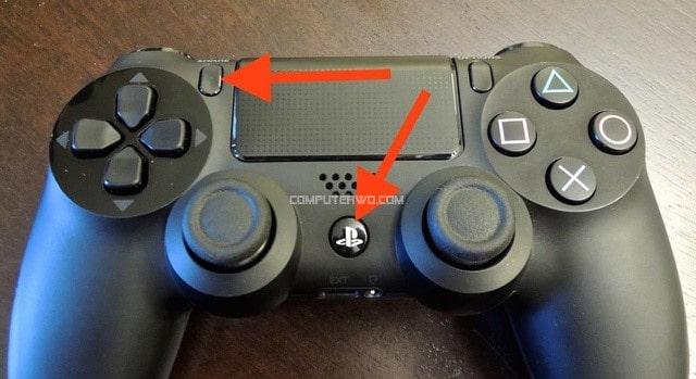 تشغيل وضع الإقران في PlayStation 4