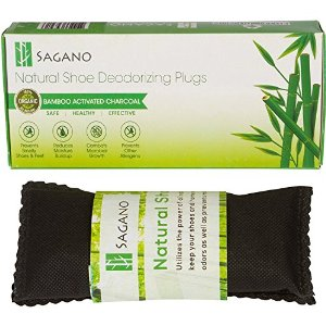 All Natural Shoe Deodorizing Inserts by Sagano