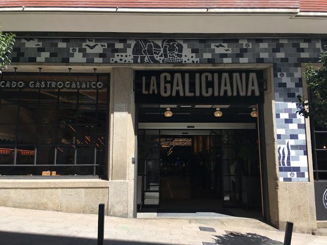 Gastronomía en Compostela: mercado la Galiciana