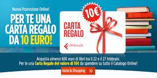 Carta Regalo da 10 € su lafeltrinelli.it