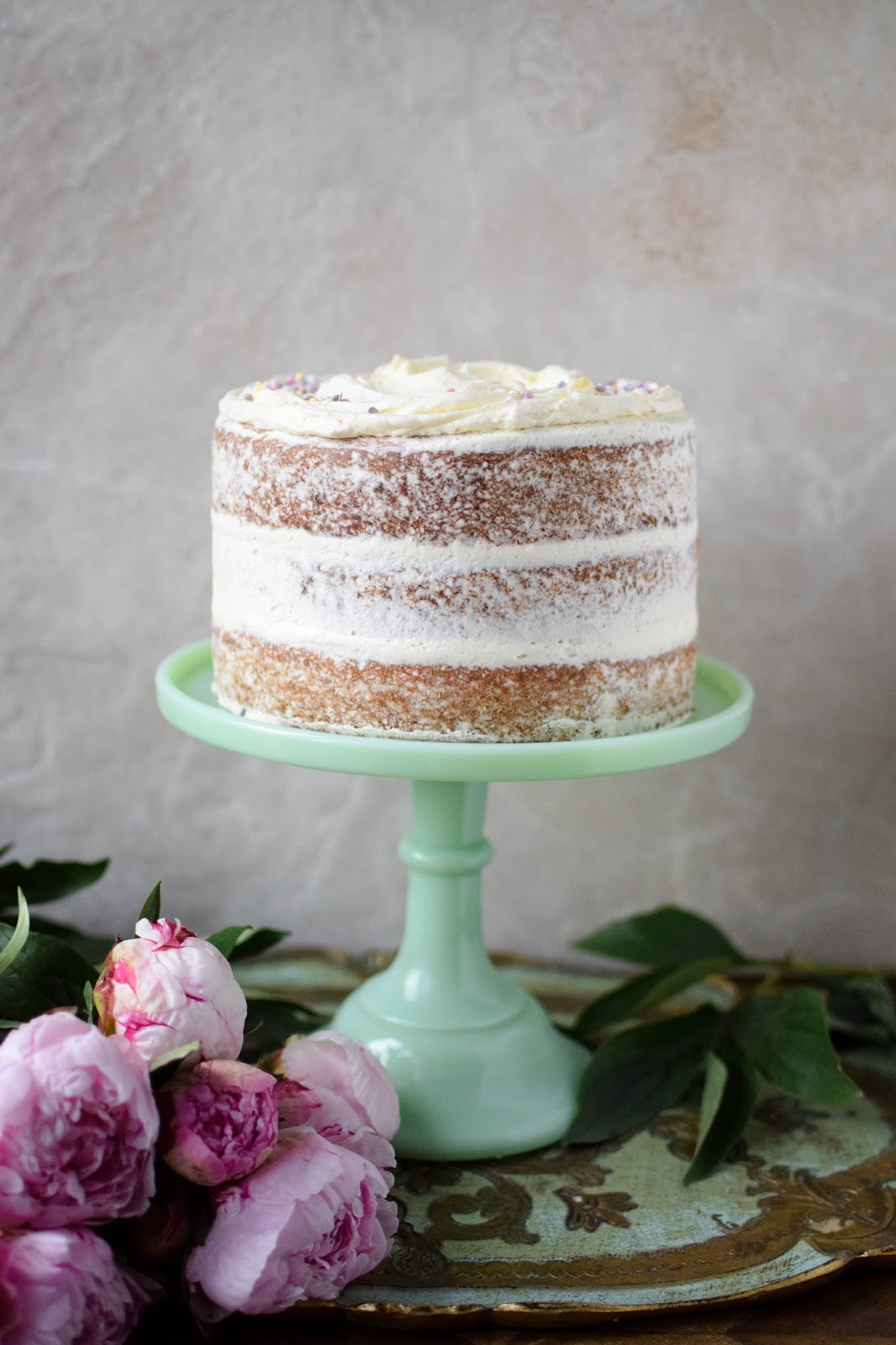 This super cute confetti cake will be the belle of any ball.
