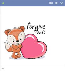 Forgive Me Emoji