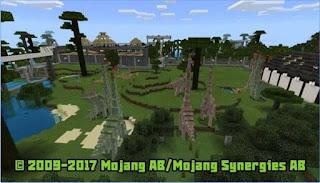 Game Jurassic Craft World Minecraft App