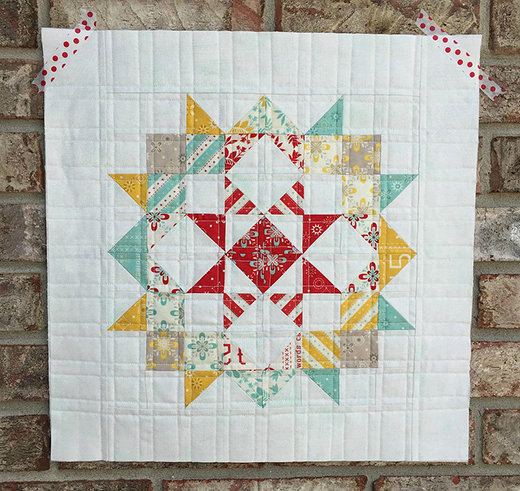 Mini Moda Love LayerCake Quilt Free Pattern