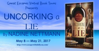 Review, Giveaway, Uncorking a Lie, Nadine Nettmann, Bea's Book Nook