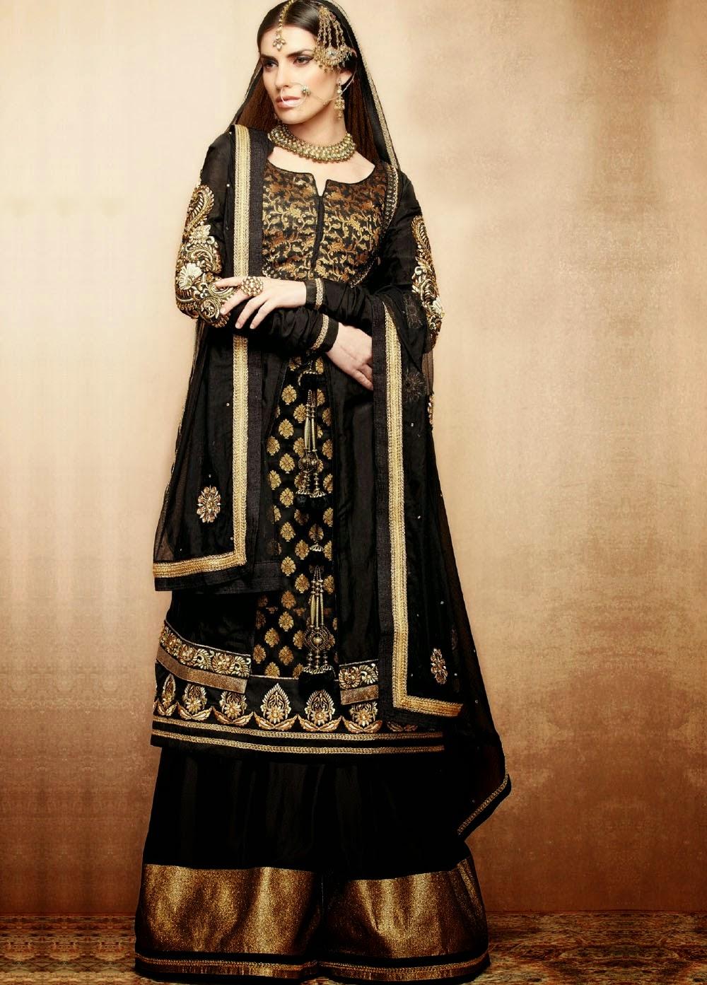 Latest Waleema Wear and Mehndi Wear Colletion 2014-15