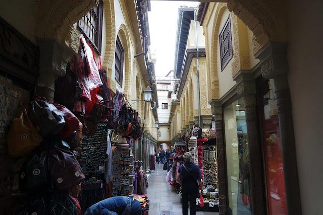 streets in granada, andalucía, españa