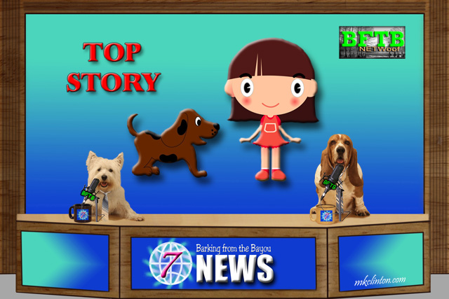BFTB NETWoof News Top Story of a hero dog rescuing a small child