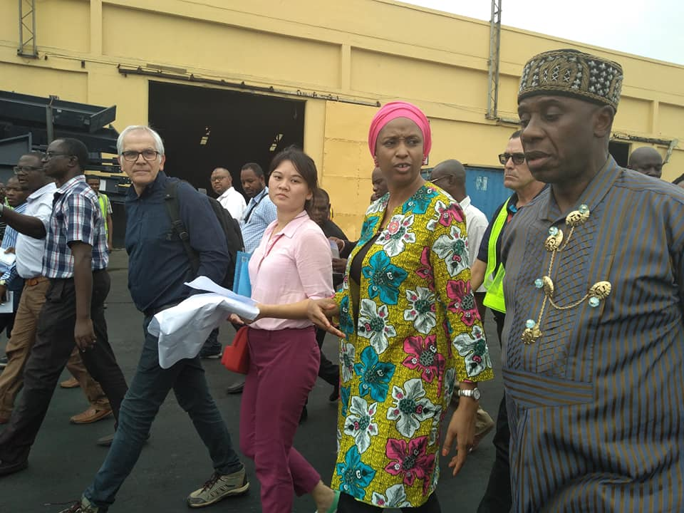Rotimi Amaechi Inspects The Lagos Section of Nigerian Railway, Apapa Port
