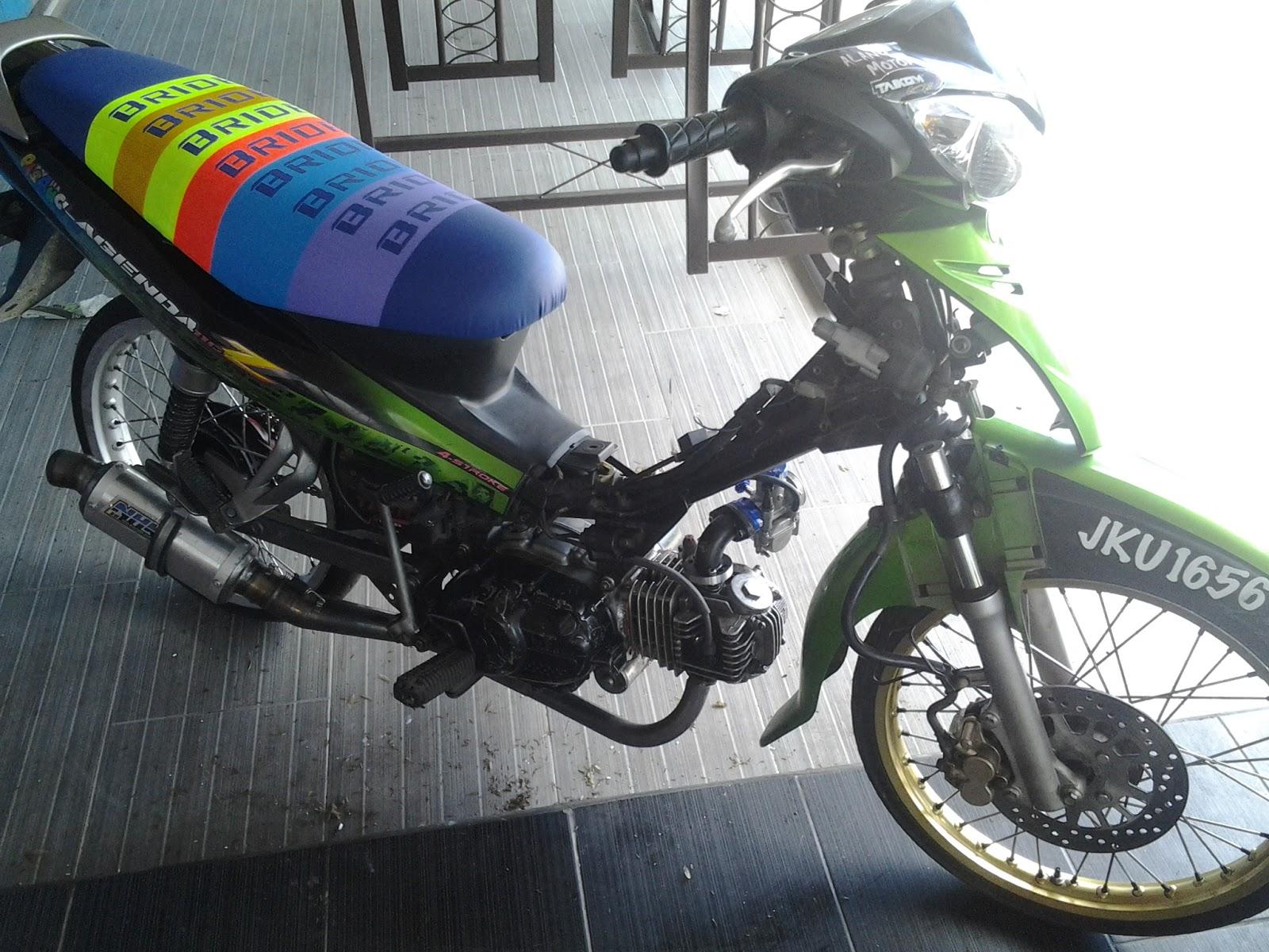 Tuned By Alang Motor Yamaha Lagenda Big Bore 214cc