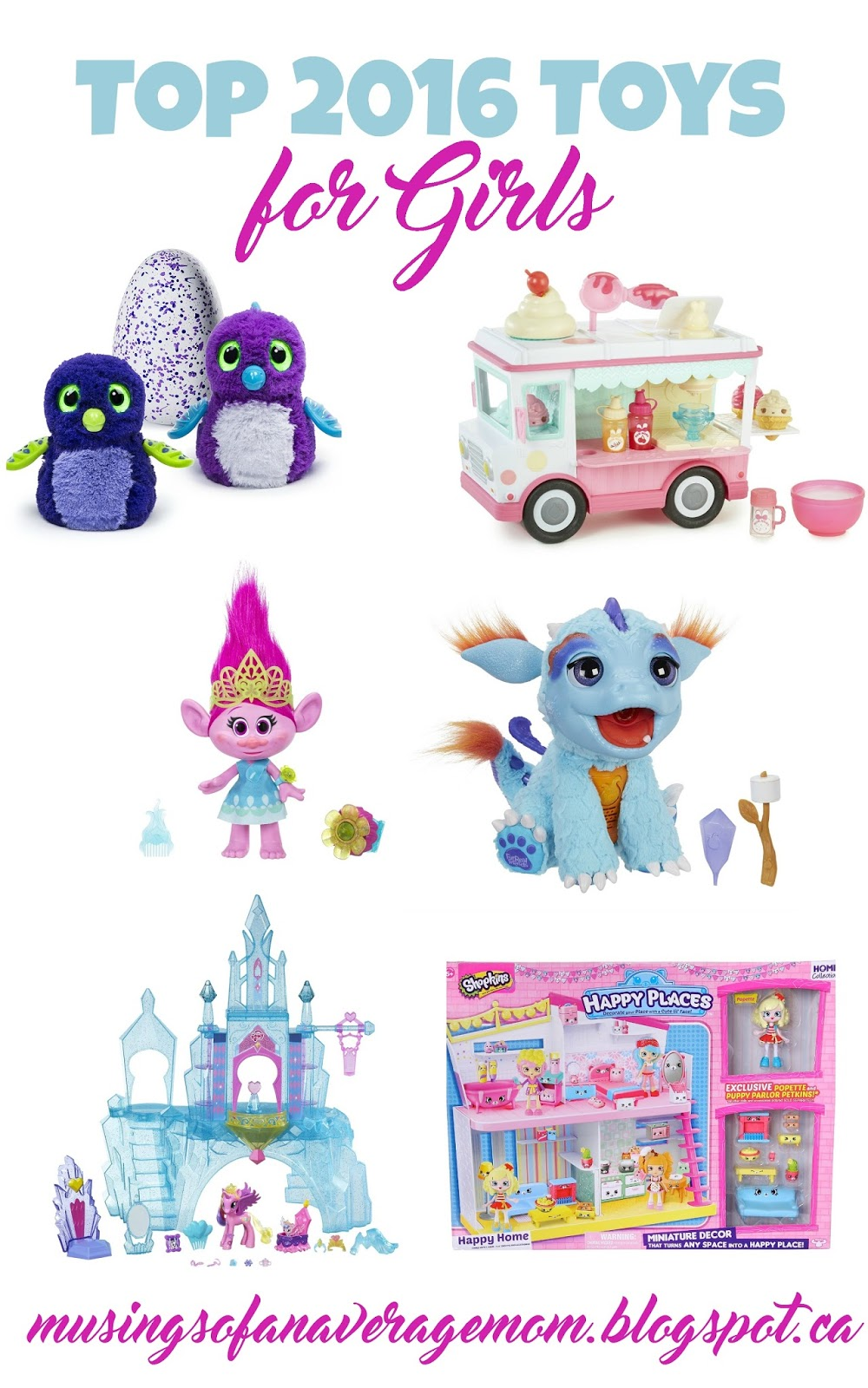 Musings Of An Average Mom Top 2016 Toy List Girls