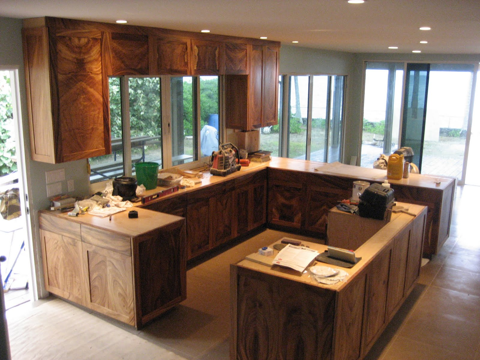 german kitchen kaneohe hi german kitchen cabinets German Kitchen Kaneohe HI Monkeypod Shaker