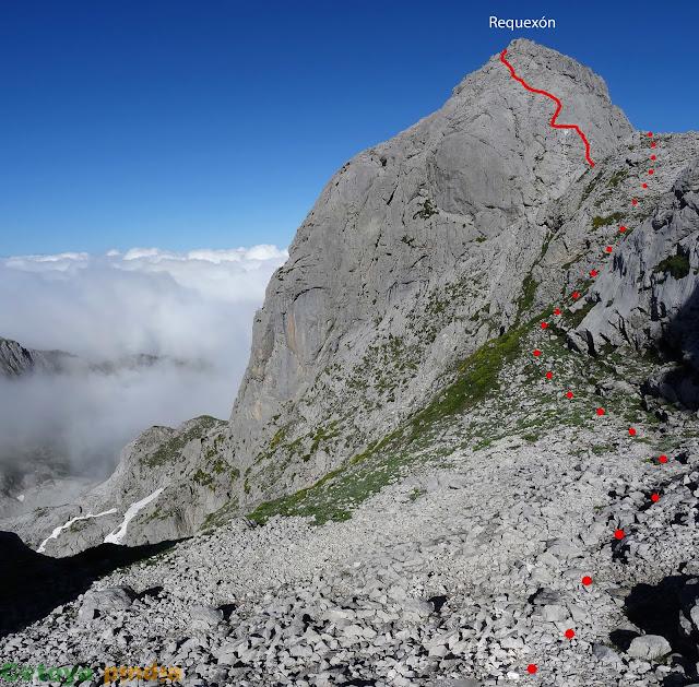 Imagen imponente del Pico Requexón en Picos de Europa
