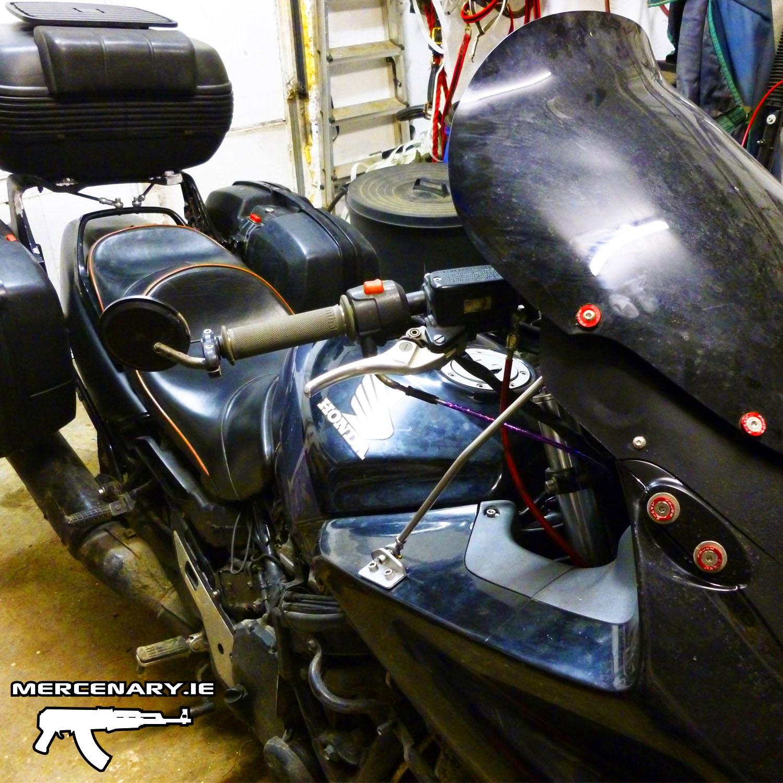 Mercenary Garage CBR1000F - Touring Modifications
