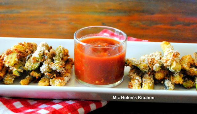 Spicy Zucchini Stix at Miz Helen's Country Cottage
