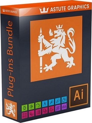 Astute Graphics Plug-ins Bundle 1.1.6 for Adobe Illustrator poster box cover