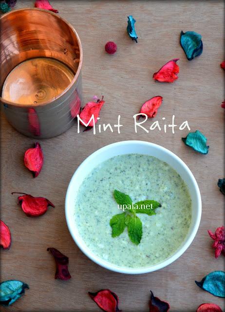 Mint Raita/Pudina Raita
