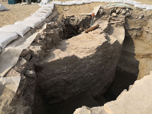 Building discovered beneath Plovdiv's Episcopal Basilica
