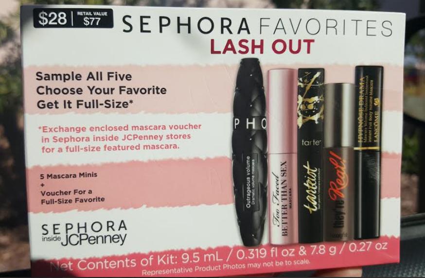 Sephora Favorites Lash Out