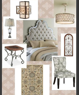 Dawn Gagnon bedroom style board