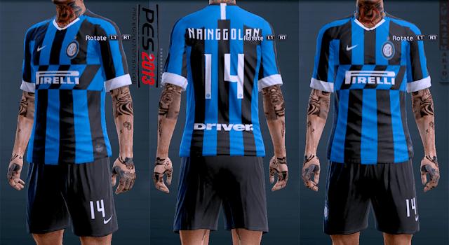 timeless design c62ae e437b PES 2013 Inter Milan 2019-2020 Home Kit Leaked
