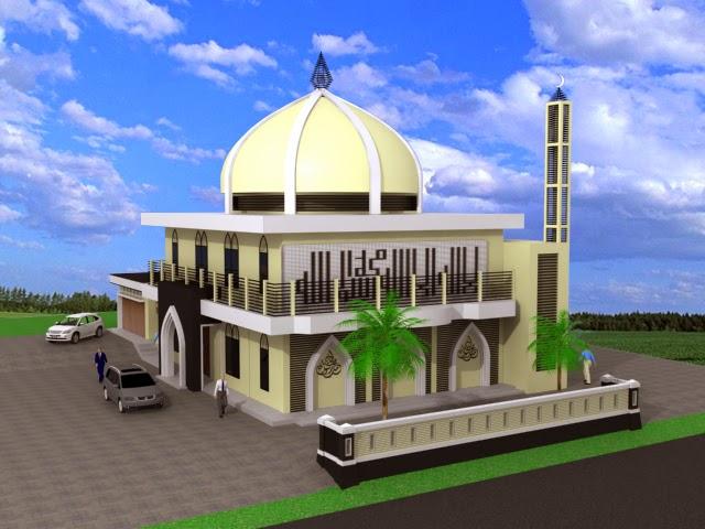Gambar Rumah Modis Update Contoh Desain Masjid Minimalis Modern