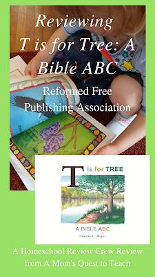 Reading Christian ABC book