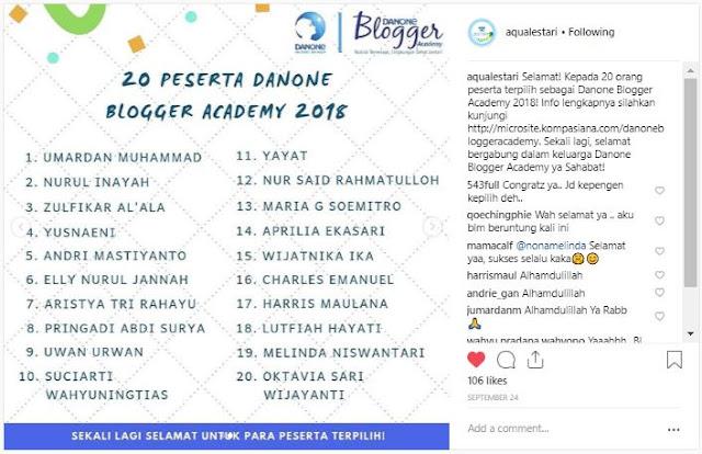 Danone Blogger Academy