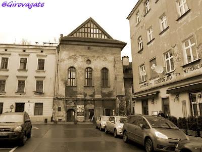 Kazimierz Cracovia sinagoga Alta