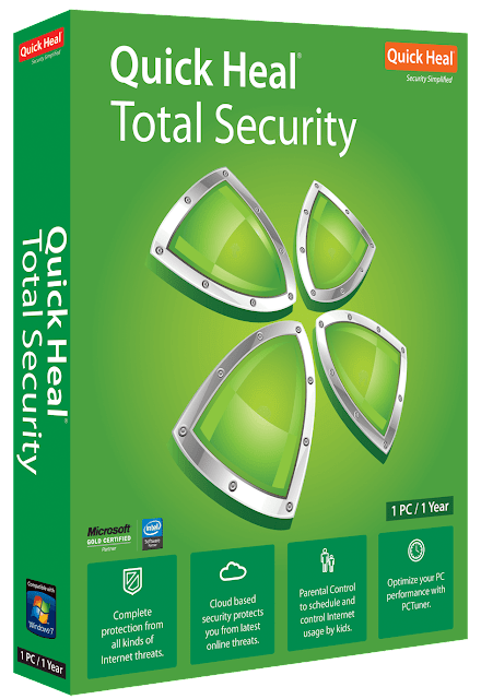 Quick heal total security crack free download working