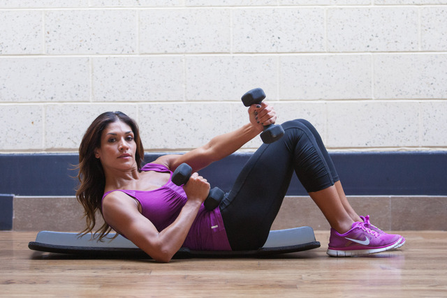 Workouts with Dumbbells: Ab Workout with Dumbbells