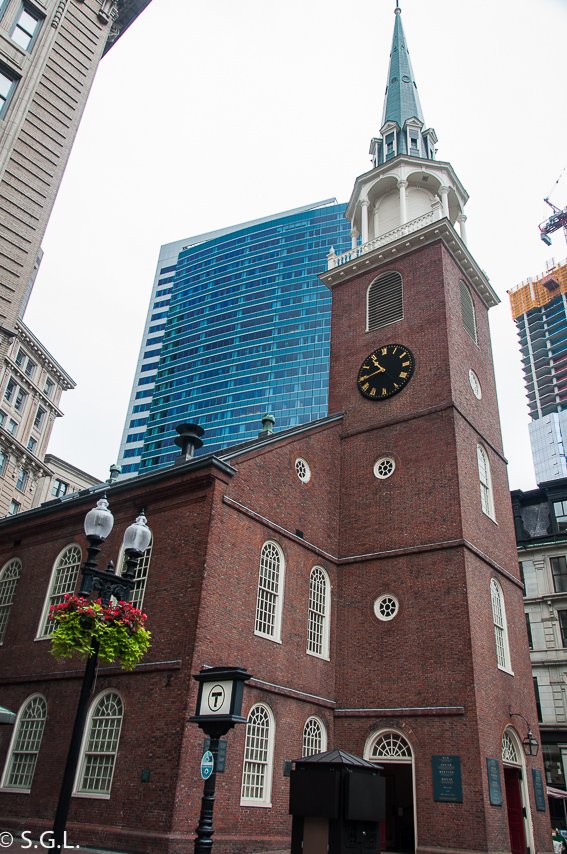 Old south meeting house Boston - freedom trial