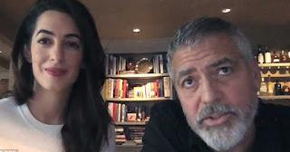 24χρονο πρόσφυγα φιλοξενούν στο σπίτι τους ο Τζορτζ Κλούνεϊ και η γυναίκα του