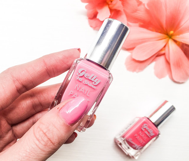 The Pink Barry M Hi Shine Gel Effect Nail Paints in DragonFruit