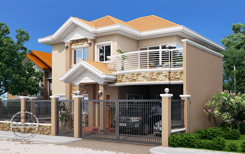 looking for house plans heres some free simple two storey house plans with cost to build - Simple House Design With Second Floor